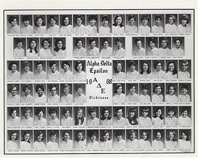Alpha Delta Epsilon, 1968